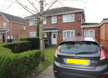 Thumbnail 4 bed semi-detached house to rent in Deanwood Close, Whiston, Prescot