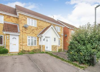 Thumbnail 2 bed semi-detached house to rent in Wiseman Close, Bushmead, Luton
