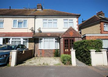 Thumbnail 3 bed end terrace house for sale in Annweir Avenue, Lancing