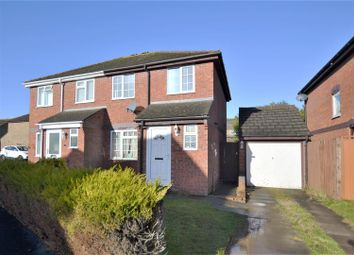 Thumbnail 3 bed semi-detached house for sale in Scampton Close, Bicester
