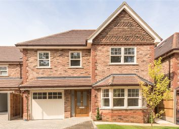 Thumbnail 4 bed detached house for sale in Walnut Close, Off West Way, Harpenden, Hertfordshire