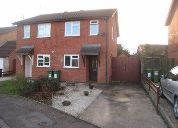 Thumbnail Semi-detached house to rent in Knights Close, Stoney Stanton, Leicester