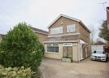 Thumbnail 3 bedroom detached house to rent in Manor Leas Close, Lincoln