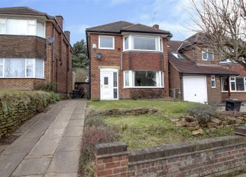 Thumbnail 3 bed detached house for sale in Seven Oaks Crescent, Bramcote, Nottingham