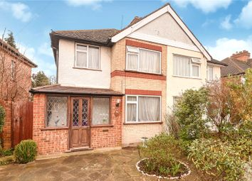Thumbnail 3 bedroom semi-detached house for sale in Hitherwell Drive, Harrow, Middlesex