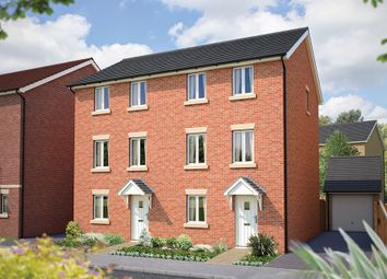 "Thumbnail 3 bedroom town house for sale in ""The Ashridge"" at Poethlyn Drive, Costessey, Norwich"