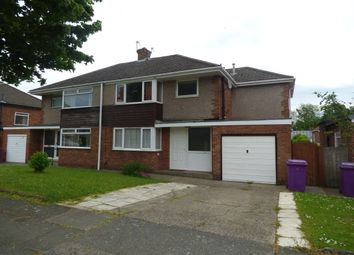 Thumbnail 3 bedroom semi-detached house to rent in Leybourne Road, Liverpool