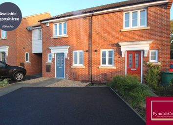 Thumbnail 2 bed semi-detached house to rent in Lord Nelson Drive, New Costessey, Norwich
