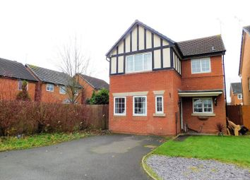 Thumbnail 3 bed detached house for sale in Rhein Way, Meadowcroft Park, Stafford.