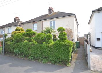 Thumbnail 3 bed semi-detached house for sale in Cross Road, Maldon