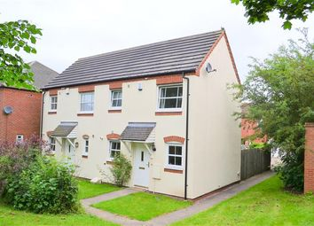 Thumbnail 2 bed semi-detached house for sale in Parnell Avenue, Lichfield