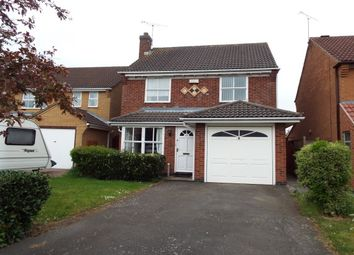 Thumbnail 4 bedroom detached house to rent in Pleasant Close, Leicester Forest East