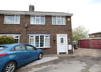 Thumbnail 3 bed semi-detached house to rent in Cedar Wood, Gilberdyke, Brough