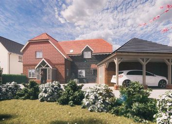 Thumbnail 4 bed detached house for sale in The Green, Soulbury, Leighton Buzzard