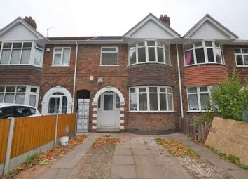 Thumbnail 3 bed terraced house to rent in Blackbird Road, Leicester