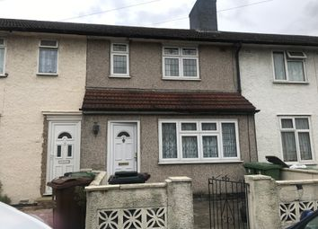 Thumbnail 2 bed terraced house to rent in Rugby Road, Dagenham