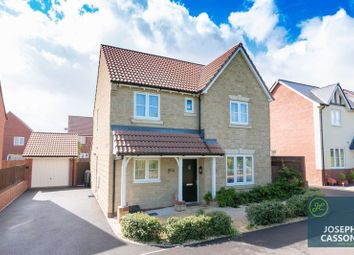 Thumbnail 4 bed detached house for sale in Cristata Way, Wilstock Village, North Petherton, Bridgwater