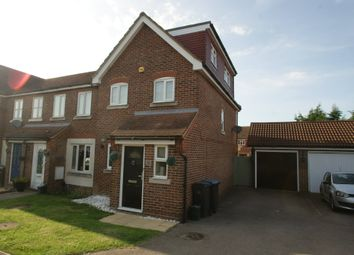 Thumbnail 3 bed end terrace house for sale in Westbury Rise, Church Langley, Harlow