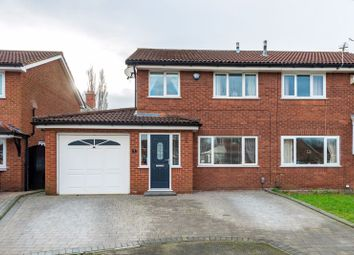 3 bed semi-detached house for sale in Muirfield Close, Fearnhead, Warrington WA2