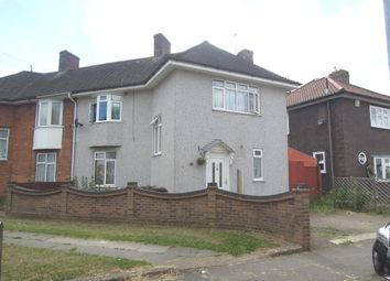 Thumbnail 3 bed semi-detached house for sale in Fuller Road, Becontree, Dagenham