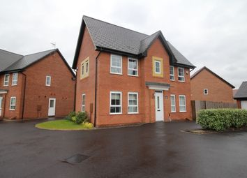 Thumbnail 3 bed detached house to rent in Stenson Fields, Derby