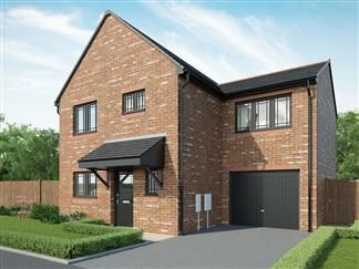 Thumbnail 3 bed detached house for sale in Rede Place, Dinnington