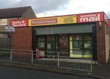 Thumbnail Retail premises for sale in Greenock, Renfrewshire