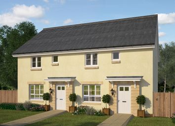 "Thumbnail 3 bed terraced house for sale in ""Coull"" at Kildean Road, Stirling"