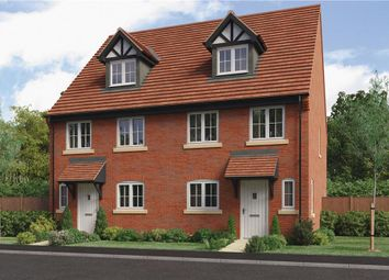 """Thumbnail 4 bed semi-detached house for sale in """"Auden"""" at Park Lane, Castle Donington, Derby"""