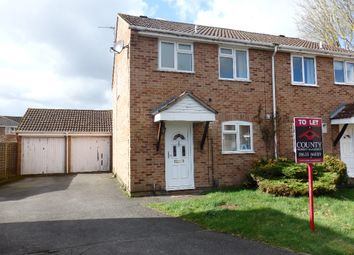 Thumbnail 3 bed semi-detached house to rent in Fyfield Road, Thatcham