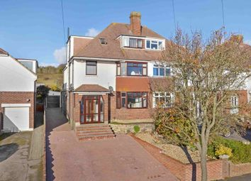 Thumbnail 4 bedroom semi-detached house for sale in Woodfield Avenue, Farlington, Portsmouth