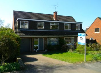 Thumbnail 4 bed semi-detached house to rent in Bridgewater Road, Berkhamsted