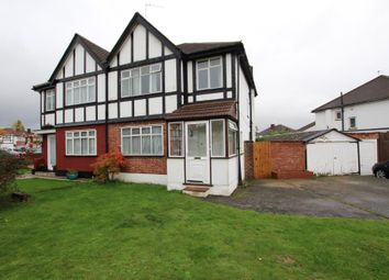 Thumbnail 3 bed semi-detached house for sale in Melcombe Gardens, Kenton