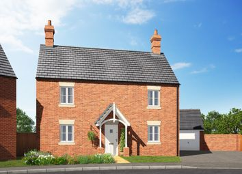 Thumbnail 4 bedroom detached house for sale in Stratford Road, Roade, Northamptonshire