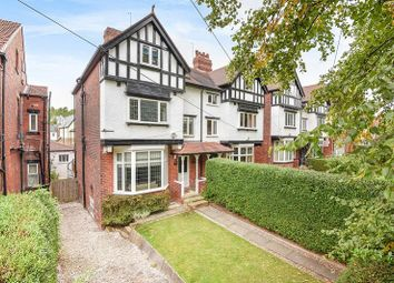 Thumbnail 5 bed terraced house for sale in Shaftesbury Avenue, Roundhay, Leeds