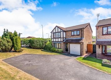 Thumbnail 4 bed detached house for sale in Beech Pine Close, Hednesford, Cannock