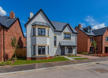 Thumbnail 4 bed detached house for sale in Usk Road, Cardiff