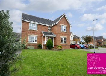 Thumbnail 4 bed detached house for sale in Courtman Road, Stanwick, Northamptonshire