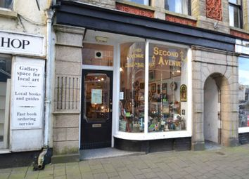 Retail premises for sale in Honey Street, Bodmin, Cornwall PL31