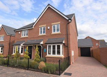 Thumbnail 3 bed semi-detached house for sale in The Holmewood, Meadow Bank, Off Gateway Avenue, Baldwins Gate, Newcastle
