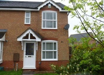 Thumbnail 2 bed end terrace house to rent in Butts Croft Close, Northampton