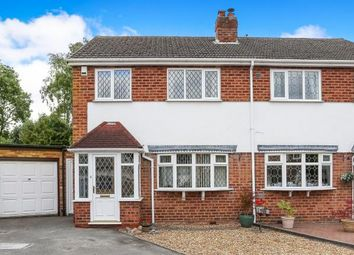Thumbnail 3 bed semi-detached house for sale in Hemlingford Croft, Marston Green, Birmingham, .