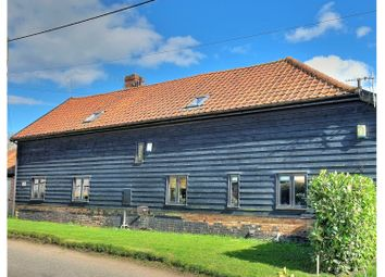 Thumbnail 4 bed barn conversion for sale in Diss Road, Tibenham