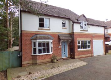 Thumbnail 4 bed detached house for sale in Coleridge Close, Exmouth