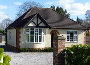 Thumbnail 2 bed detached bungalow to rent in Crewe Road, Shavington, Crewe
