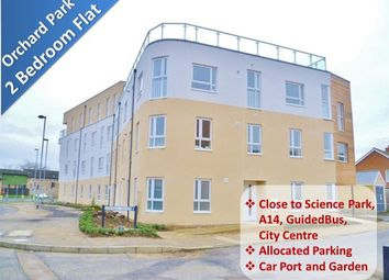 Thumbnail 2 bedroom flat to rent in Chieftain Way, Orchard Park, Cambridge
