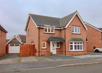 Thumbnail 4 bed detached house for sale in Sheelin Crescent, Nuneaton