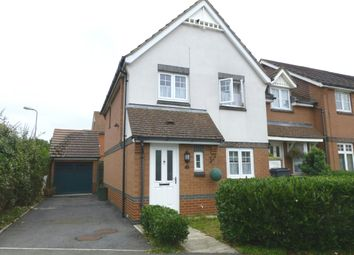 Thumbnail 3 bedroom end terrace house for sale in Nigel Fisher Way, Chessington, Surrey