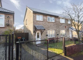 Thumbnail 3 bed semi-detached house for sale in Lundy Drive, St. Julians, Newport