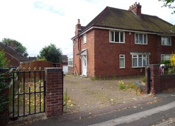 Thumbnail 3 bed semi-detached house for sale in Dartmouth Avenue, Walsall, West Midlands